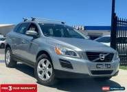 2012 Volvo XC60 T5 Teknik Wagon 5dr PwrShift 6sp 2.0T [MY12] Silver Automatic A for Sale